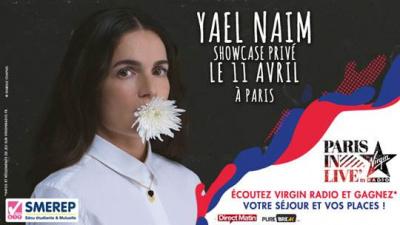 Paris In Live avec Yaël Naim au Bus Palladium