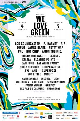 Festival We Love Green 2016 à Paris : Gagnez vos pass 2 jours