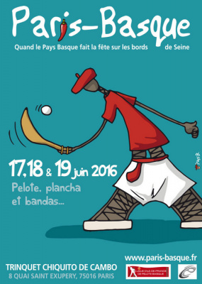 Paris-Basque 2016 au Trinquet Chiquito de Cambo