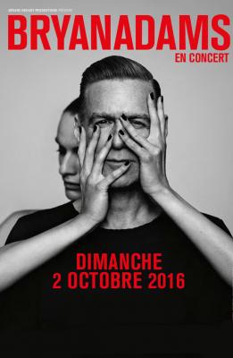 Bryan Adams en concert au Zénith de Paris en octobre 2016