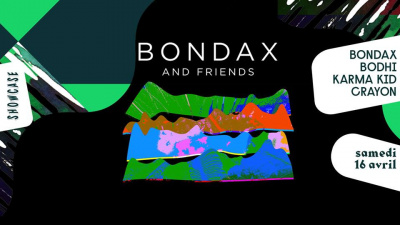 Bondax & friends au Showcase