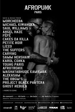 Festival Afropunk Paris 2016 au Trianon : dates, programmation et réservations