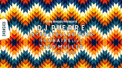 Open Minded au Showcase avec Interstellar Funk