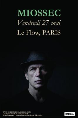 Miossec en concert au Flow à Paris