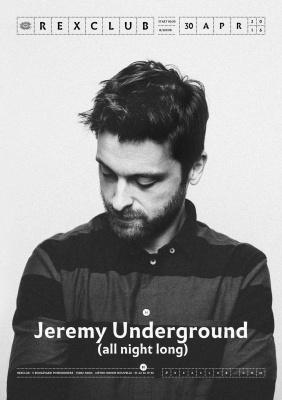 Jeremy Underground au Rex Club