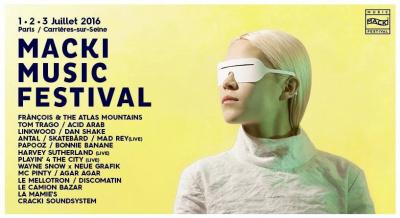 Macki Music Festival 2016 à Paris et à Carrières-sur-Seine : dates, programmation et réservations