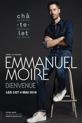 Emmanuel Moire en concert au Théâtre du Châtelet