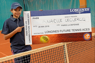 Longines Future Tennis Aces 2016 à La Défense