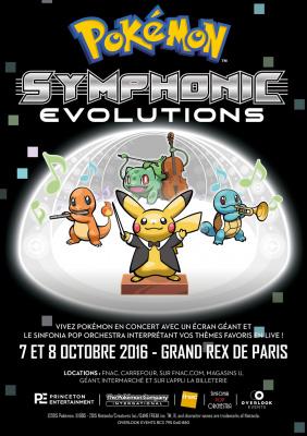 Pokémon: Symphonic Evolutions au Grand Rex de Paris