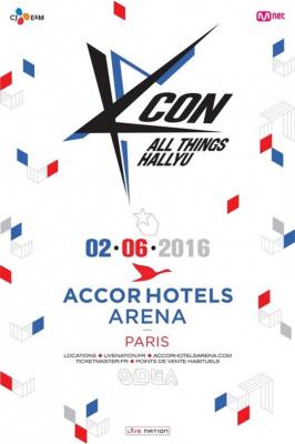 KCON 2016 à l'Arena Bercy de Paris en juin 2016