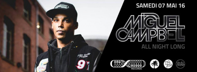 Miguel Campbell All Night Long au Zig Zag Club