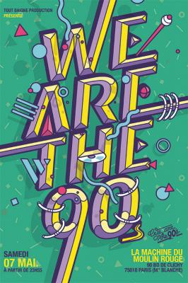 We Are the 90's #80 à La Machine du Moulin Rouge