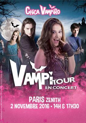 Vampitour : Chica Vampiro de retour au Zénith de Paris en novembre 2016
