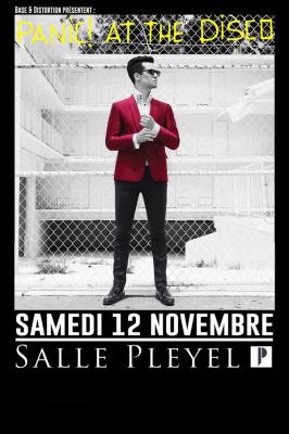 Panic! At The Disco en concert à La Salle Pleyel de Paris