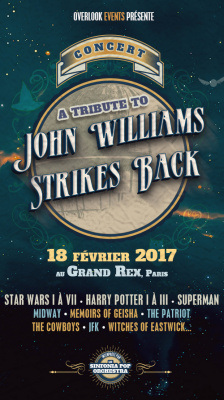 John Williams Strikes Back au Grand Rex de Paris en 2017