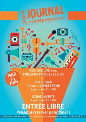 Fête de la Musique 2016 au Petit Journal Montparnasse