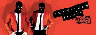 Twenty One Pilots en concert au Zénith de Paris en novembre 2016