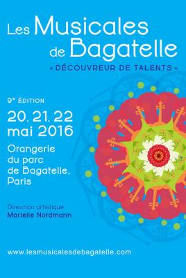 Les Musicales de Bagatelle 2016 : dates, programmation et réservations