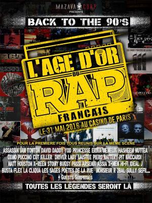 L'âge d'or du rap français au Casino de Paris