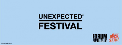 Unexpected festival au forum des Halles