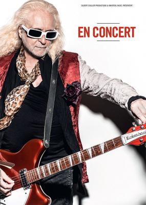 Michel Polnareff en concert à l'Olympia de Paris le 14 juillet 2016