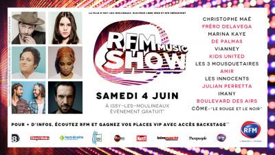 RFM Music Show 2016 à Issy-les-Moulineaux