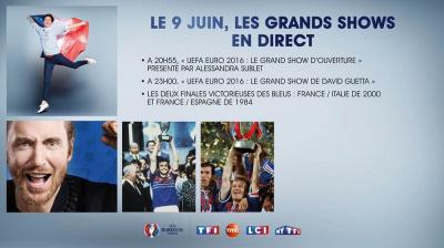 Euro 2016 : le Grand Show d'ouverture au Champ-de-Mars
