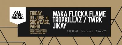 All Trap Music au Showcase avec Waka Flocka Flame
