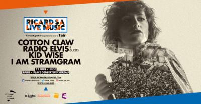 Fête de la musique 2016 à Paris : Ricard S.A. Live Music à Denfert