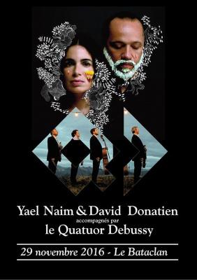 Yael Naim & David Donatien en concert au Bataclan
