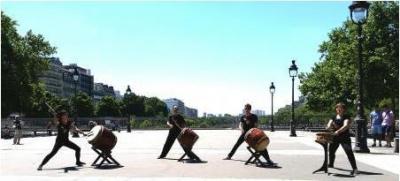 Fête de la Musique 2016 sur la Place de la Bastille