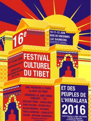 La Nuit du Tibet 2016 au Bois de Vincennes