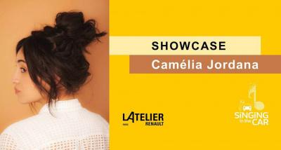 Camelia Jordana en showcase gratuit à L'Atelier Renault