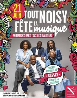 Fête de la Musique 2016 à Noisy-le-Grand avec Kassav'