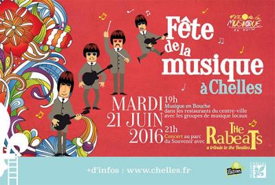 Fête de la musique 2016 à Chelles
