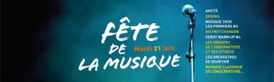 Fête de la musique 2016 à Cergy