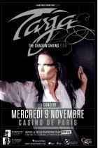 Tarja Turunen en concert au Casino de Paris en novembre 2016