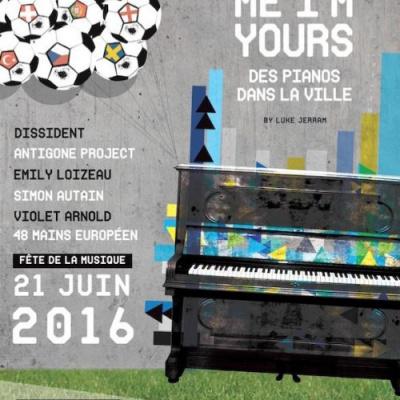 Fête de la Musique 2016 : Play Me I'm yours au Parc de La Villette
