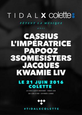 Fête de la Musique 2016 chez Colette