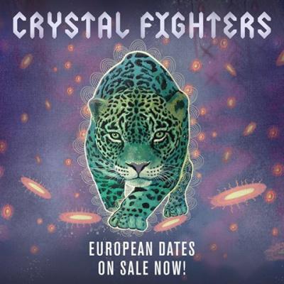 Crystal Fighters en concert au Trabendo de Paris en octobre 2016