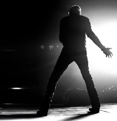 Johnny Hallyday en concert au Palais de Garnier de Paris