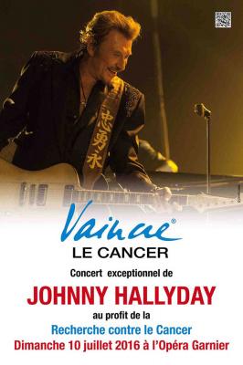 Johnny Hallyday en concert au Palais Garnier de Paris