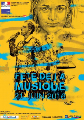Fête de la Musique 2016 au Forum de Vauréal