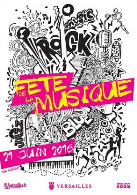 Fête de la Musique 2016 à Versailles