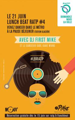 Fête de la Musique 2016 dans le métro : Lunch Beat RATP