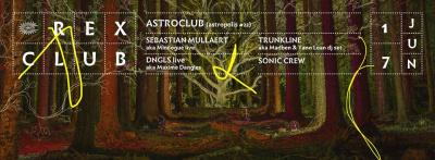 Astroclub au Rex Club avec Sebastian Mullaert aka Minilogue