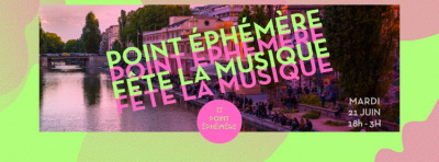 Fête de la Musique 2016 au Point Ephémère