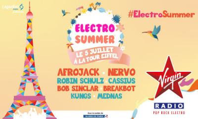 Electro Summer sous La Tour Eiffel