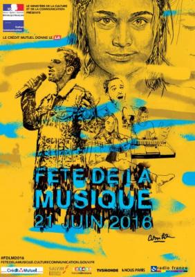 Fête de la Musique 2016 à la Mairie du 11ème arrondissement