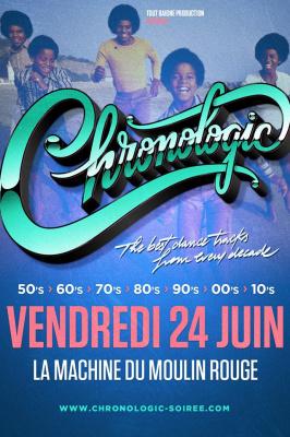 Chronologic #27 à La Machine du Moulin Rouge